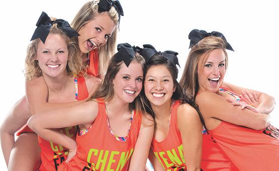 Cheer team bond