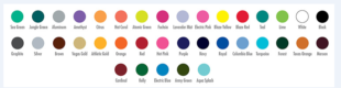 Color swatches gtmcustom